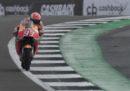 Il Gran Premio di MotoGP di Silverstone è stato anticipato alle 12.30 per il rischio di pioggia