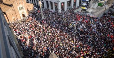 Le foto della manifestazione contro il razzismo a Milano