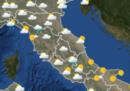 Le previsioni meteo per mercoledì 8 agosto