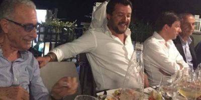 Dov'era Salvini la sera del crollo di Genova