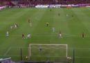 Il primo gol di Iniesta con una squadra diversa dal Barcellona: un gran gol