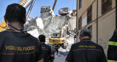 Le ultime foto da Genova