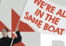 Il manifesto per la Barcolana di Marina Abramovich che non piace al Comune di Trieste