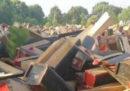 La distruzione delle bare nella provincia cinese del Jiangxi