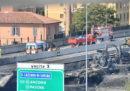 È stato parzialmente riaperto il raccordo tra le autostrade A14 e A1 chiuso dopo l'incidente di Bologna