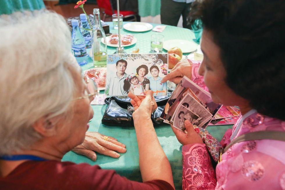 Incontri famiglie divise da Guerra Corea