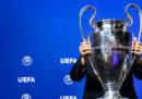 Champions League, i sorteggi dei gironi in diretta streaming