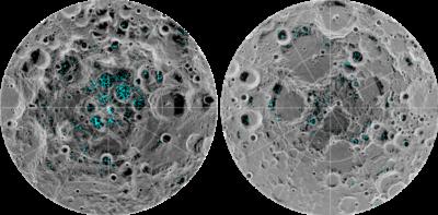 C'è ghiaccio sulla Luna, dice la NASA