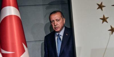 Erdoğan guarda a est