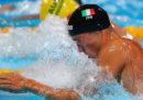 Fabio Scozzoli ha vinto l'argento agli Europei nei 50 metri rana