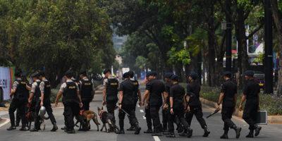Le violenze prima dei Giochi asiatici