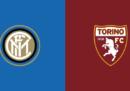 Inter-Torino in streaming e in diretta TV