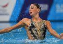 Linda Cerruti ha vinto la medaglia di bronzo nel nuoto sincronizzato agli Europei di Glasgow