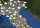 Le previsioni meteo per venerdì 10 agosto