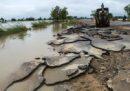 Ha ceduto una grossa diga in Myanmar