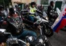 """I """"Lupi della notte"""", i motociclisti amici di Putin, sono arrivati in Slovacchia"""