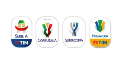 I nuovi loghi di Serie A, Coppa Italia e Supercoppa