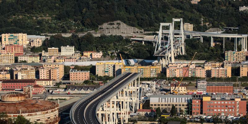 Autostrade, per Genova nuovo ponte in acciaio in 8 mesi