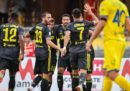 Il primo gol della nuova Serie A lo ha segnato Sami Khedira