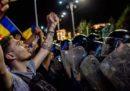 La grande manifestazione contro il governo romeno