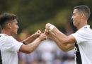 Le foto della prima partita di Cristiano Ronaldo con la Juventus