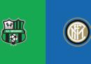 Sassuolo-Inter in streaming e in diretta TV