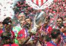 L'Atletico Madrid ha vinto la Supercoppa UEFA battendo 4-2 il Real Madrid