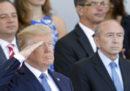 La grande parata militare che Trump aveva ordinato è stata rimandata