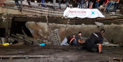 Festival di Vigo, crolla passerella: decine di feriti