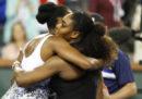 Le sorelle Serena e Venus Williams venerdì giocheranno l'una contro l'altra agli US Open