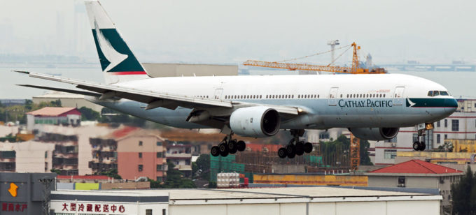 Boeing 777-200 B-HNL