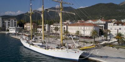 Il veliero che fa litigare Croazia e Montenegro