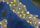 Le previsioni meteo per mercoledì 26 settembre