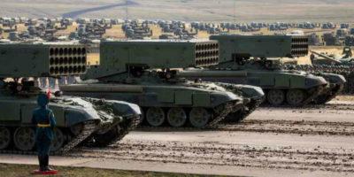 C'è una nuova grande esercitazione militare in Russia
