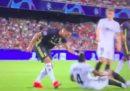 Il video dell'espulsione di Cristiano Ronaldo in Champions League