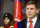 Russia e Ucraina si incolpano a vicenda per la morte di Aleksandr Zacharčenko