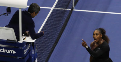 Ha ragione l'arbitro o Serena Williams?