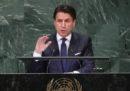 Il discorso di Giuseppe Conte alle Nazioni Unite