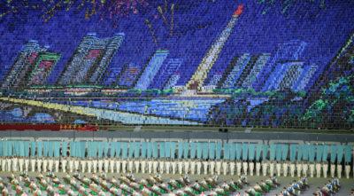 I giochi di massa in Corea del Nord