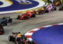 Formula 1: l'ordine di arrivo del Gran Premio di Singapore