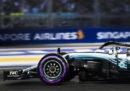 Lewis Hamilton partirà dalla pole position nel Gran Premio di Singapore di Formula 1