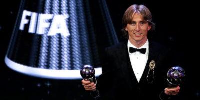 Luka Modric ha vinto il premio FIFA come miglior calciatore del 2018