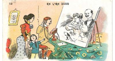 Il 2000 come lo immaginavano nel 1900, e altre vecchie figurine