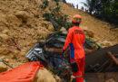 Almeno 22 persone sono morte in una frana nelle Filippine