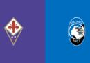 Fiorentina-Atalanta in streaming e in diretta TV
