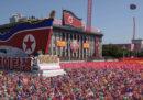 Le foto della grande parata militare in Corea del Nord