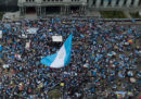 Le proteste contro Jimmy Morales, in Guatemala