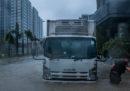 Il tifone Mangkhut è arrivato a Hong Kong
