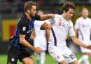 L'Inter ha vinto 2-1 contro la Fiorentina nell'anticipo della sesta giornata di Serie A