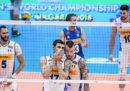 Italia-Serbia dei Mondiali di pallavolo maschile in diretta